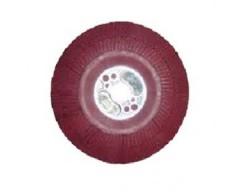 Soporte disco fibra 125mm m14 rojo 64861