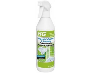 Limpiador especial duchas y lavabos hg