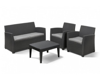 Conjunto corona lounge set antracita