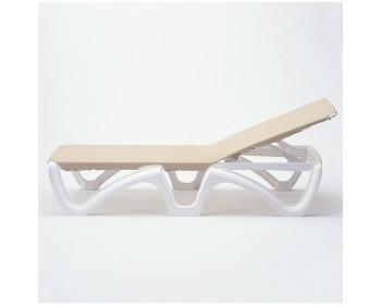 Tumbona odysee blanco /taupe beige