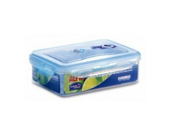Recipiente hermetico alfa airless vacio rectang 3.6l