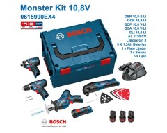 Kit bosch monster profesional 10.8 v-li (0 615 990 ex4)