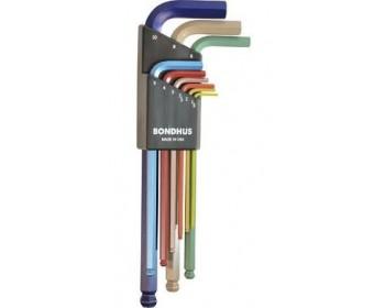 Juego llave allen largas bondhus 1.5-10mm ref.69499