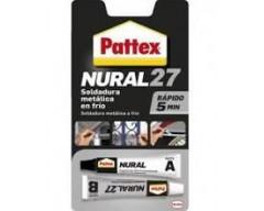 Adhesivo pattex nural 27 22ml aluminio gris