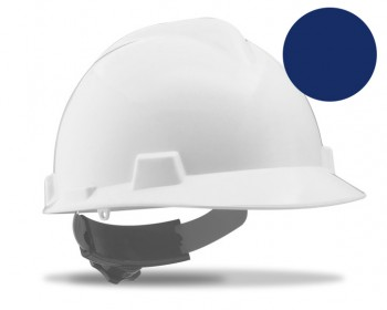 Casco proteccion ruleta troyano azul