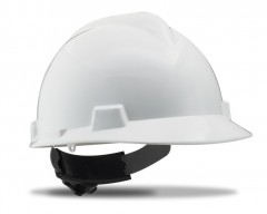 Casco proteccion ruleta troyano blanco
