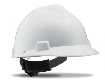 Casco proteccion ruleta troyano blanco