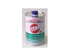 Aguarras titan 1 litro mineral metalico