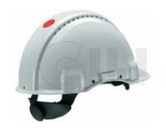 Casco 3m g3000w blanco con ventilacion sin ruleta