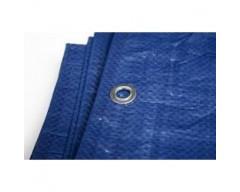 Lona toldo azul para usos varios 4x5mts hepoluz 83004