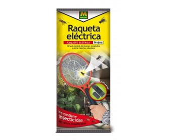 Raqueta electrica insecticida de insectos