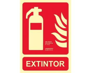 Señal extintor 21x30