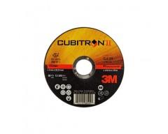 Disco 3m cubitron ii corte 125x1 65512