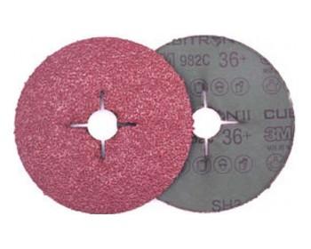 Disco 3m cubitron ii 125 grano 36 hierro acero 982c unidad