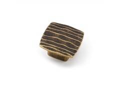 Pomo estamp 6150 bronce rustico n714
