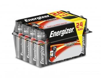 Pila energizer max lr03 aaa value 24uds