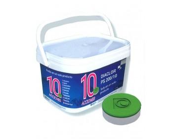 Diaclor 200/10 acciones 6 kg cloro