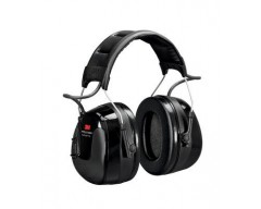 3m peltor worktunes pro am/fm radio headset, black, headband hrxs221a