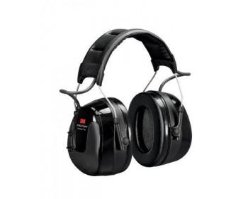 3m peltor worktunes pro am/fm radio headset, black, headband hrxs221a