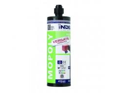 Anclaje quimico mopoly cartucho mortero bi-componente 400cc.