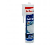 Silicona fischer baños transparente