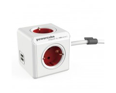 Powercube original 4 tomas + 2usb 1,5 m