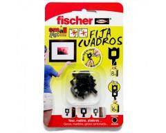 Fischer fija cuadraos negro