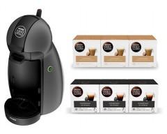 Cafetera krups kp100bsc negra + 3 caja cortado + 3 caja cafe intenso