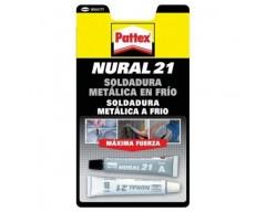 Adhesivo pegamento nural 21 22cc aluminio gris