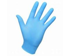 Guantes vinilo glove azul tot t-m
