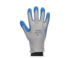 Guantes bodero anticorte azul 545