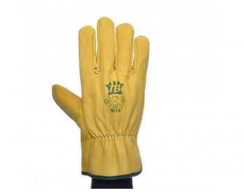 Guantes bodero piel amarillo 161ib