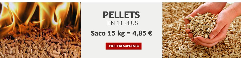 Compra online Pellets Saco 15 kg 4,85€